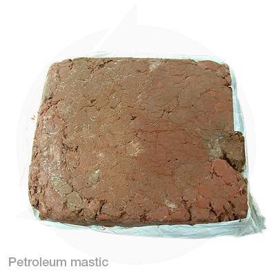 Petroleum mastic dog meat