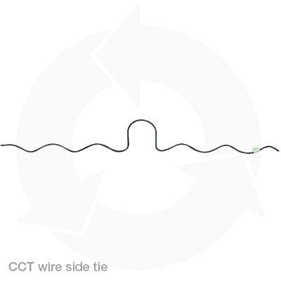 CCT wire side ties