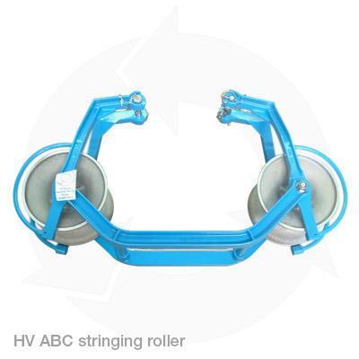 HV ABC running sheave stringing roller