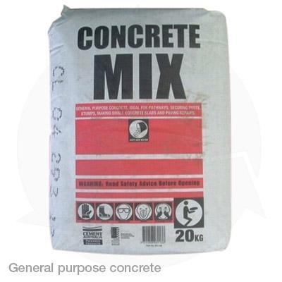 General purpose concrete