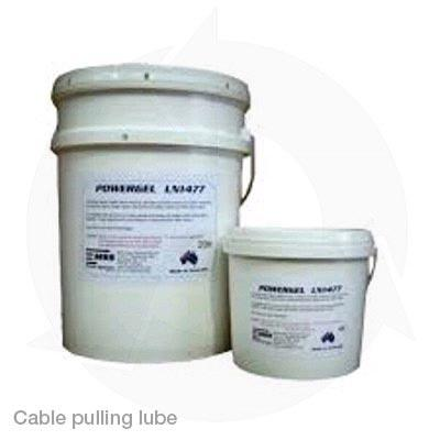 Cable pulling lube